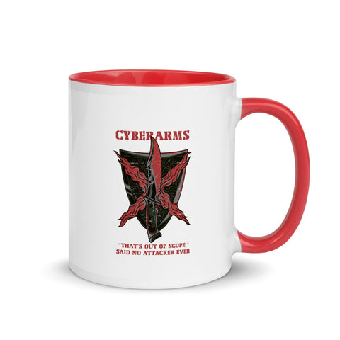 CyberArms - Mug with Color Inside