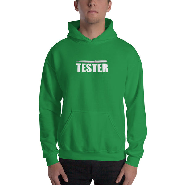 Pentester - Hooded Sweatshirt (white text)