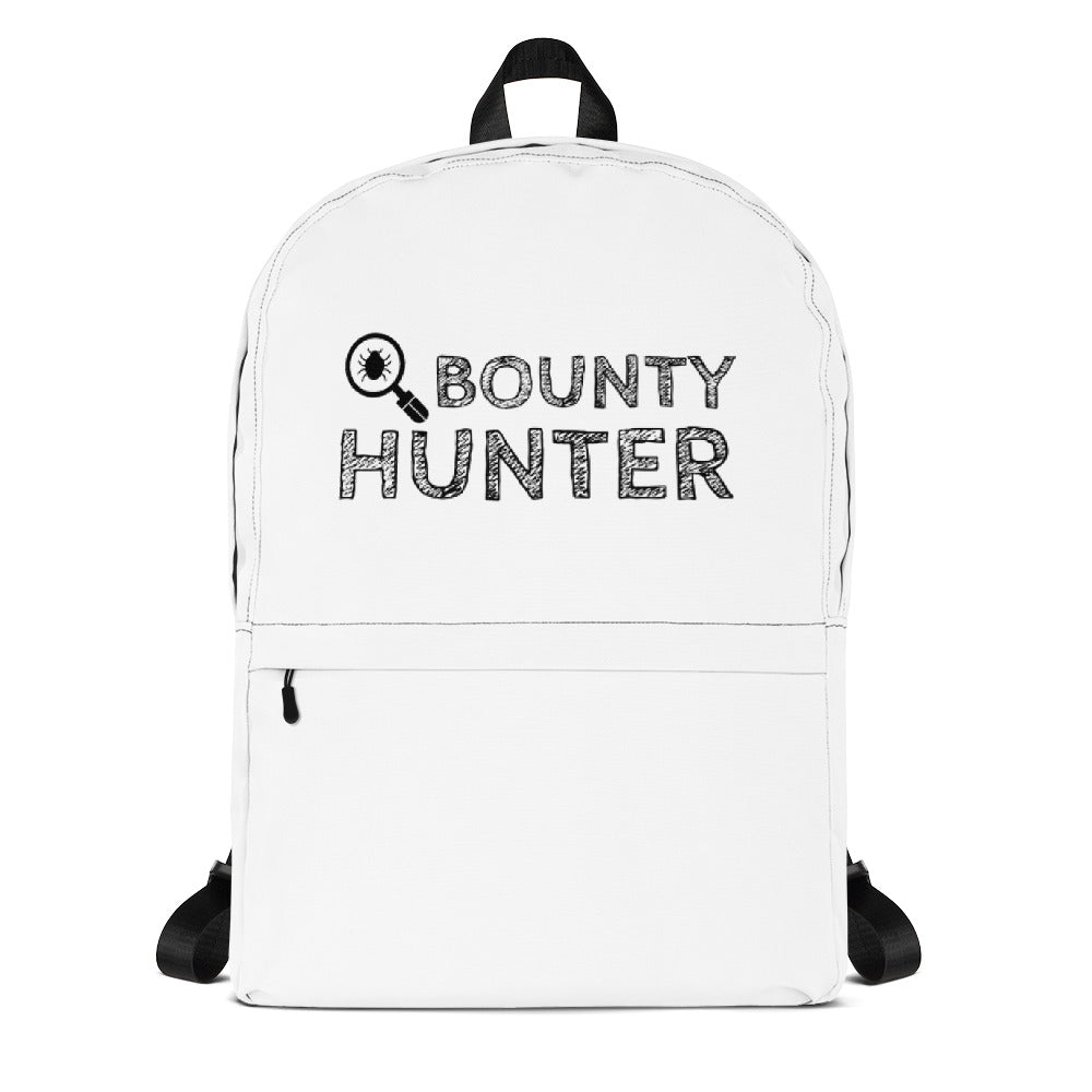 Bug bounty hunter - Backpack (black text)