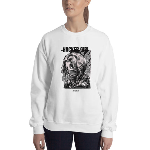 Hacker girl - Unisex Sweatshirt