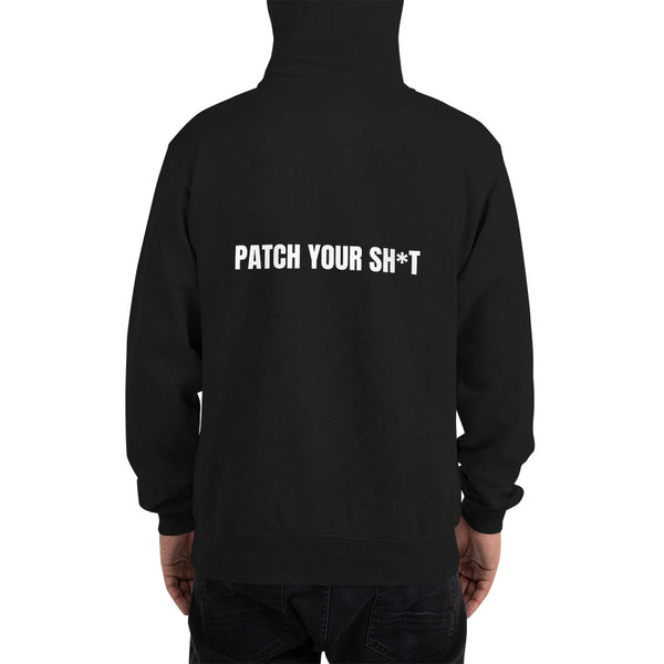 PATCH YOUR SH*T - Champion Hoodie (white text)