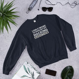I only work to support my hacking addiction - Unisex Sweatshirt