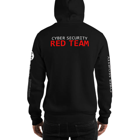 Cyber security red team - Unisex Hoodie (all sides print)
