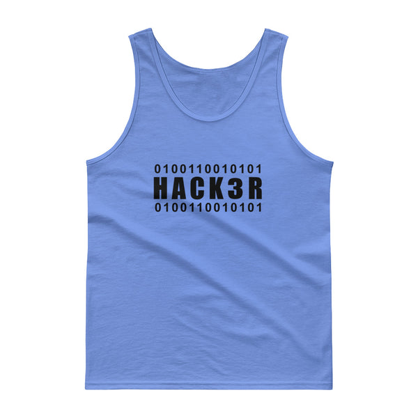 0100110010101  Hack3r - Tank top (black text)