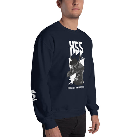 XSS cross-site scripting attack - Unisex Sweatshirt