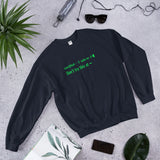 sudo rm -rf  - Don't try this at home - Unisex Sweatshirt