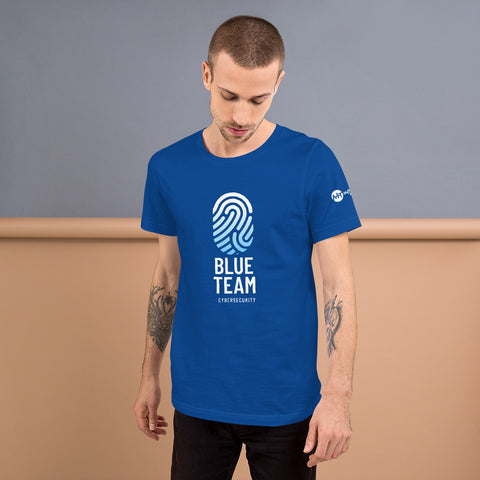 Cybersecurity Blue Team v2 - Short-Sleeve Unisex T-Shirt