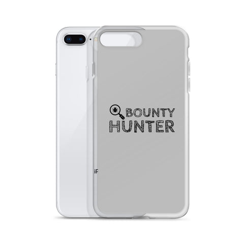 Bug bounty hunter - iPhone Case (black text)