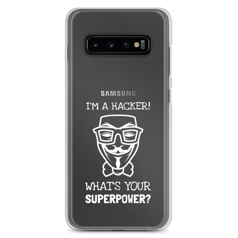 I'm a hacker! What's your superpower? - Samsung Case