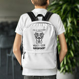 I'm a hacker! What's your superpower? - Backpack