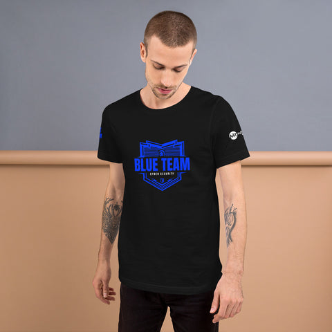 Cybersecurity Blue Team - Short-Sleeve Unisex T-Shirt