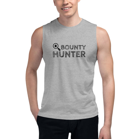 Bug bounty hunter - Muscle Shirt (black text)