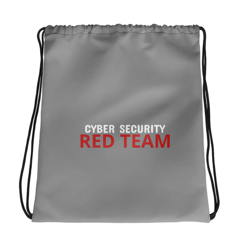 Cyber Security Red Team - Drawstring bag (grey)