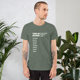 Types Of Hackers - Short-Sleeve Unisex T-Shirt