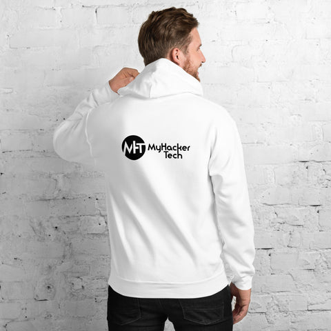 MyHackerTech Classic - Unisex Hoodie ( with back design)