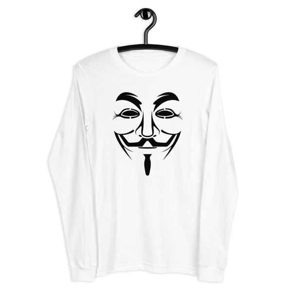 Anonymous - Unisex Long Sleeve Tee (black text)