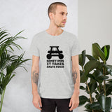 Sometimes it takes brute force - Short-Sleeve Unisex T-Shirt