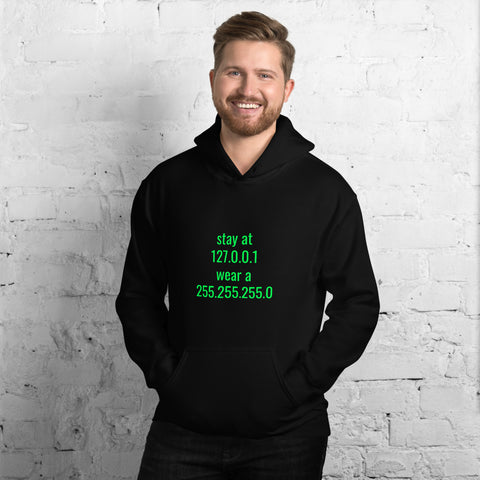 stay at at home, wear a mask - Unisex Hoodie