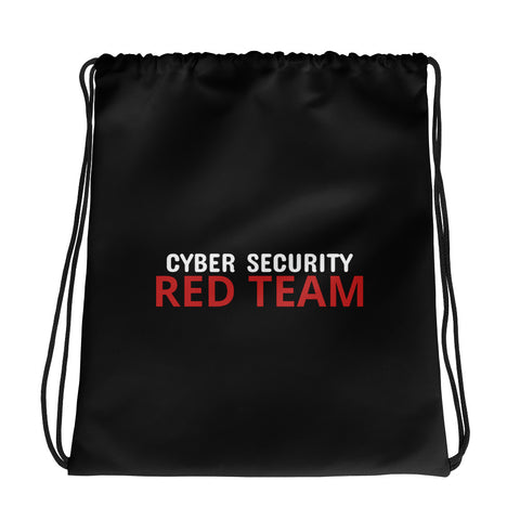 Cyber Security Red Team - Drawstring bag (black)