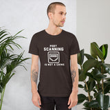 Port Scanning is not a crime - Short-Sleeve Unisex T-Shirt