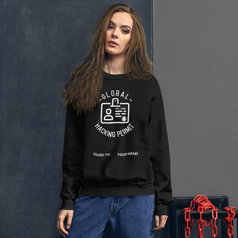 Global Hacking Permit 3389 - Unisex Sweatshirt