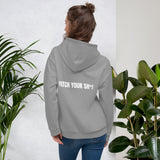 PATCH YOUR SH*T - Unisex Hoodie (white text)