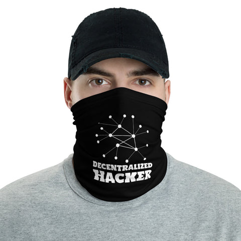 Decentralized hacker - Neck Gaiter