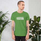 Pentester - Short-Sleeve Unisex T-Shirt (white text)