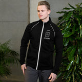 Keep hacking - Piped Fleece Jacket