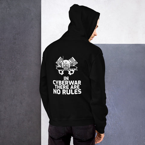 In cyberwar, there are no rules - Unisex Hoodie