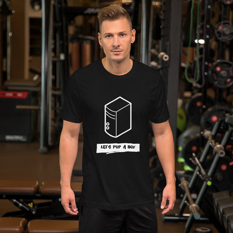 Let's pop a box - Short-Sleeve Unisex T-Shirt