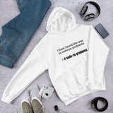 I have found the way to  remove problems - Hooded Sweatshirt (Black text)