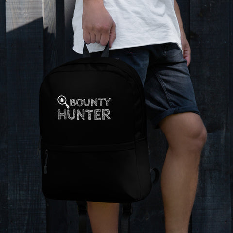 Bug bounty hunter - Backpack (white text)
