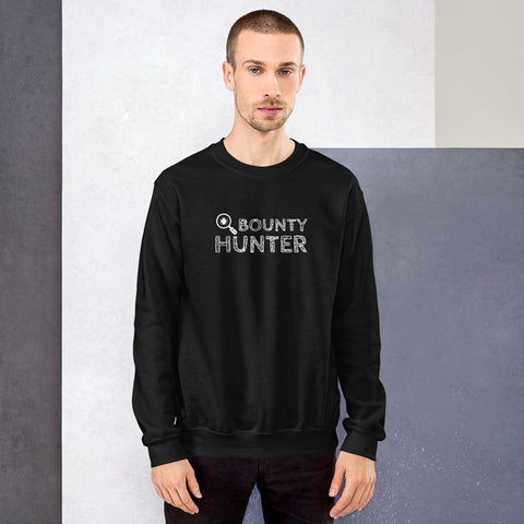 Bug bounty hunter - Sweatshirt (white text)