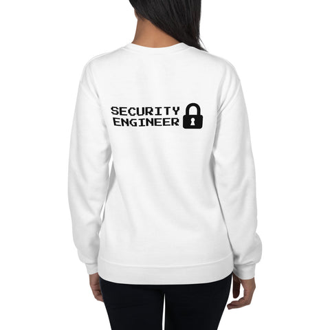 Security engineer - Unisex Sweatshirt