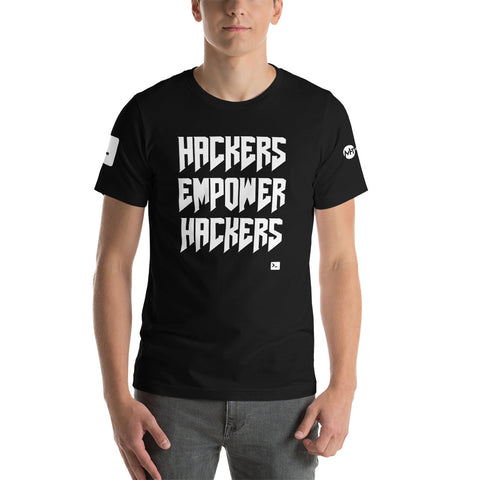 Hackers empower hackers - Short-Sleeve Unisex T-Shirt
