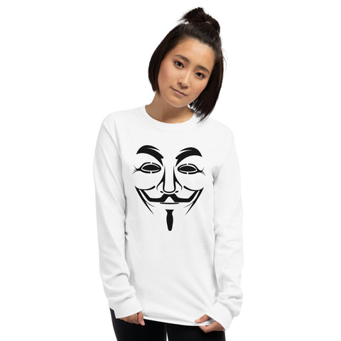 Anonymous - Long Sleeve T-Shirt (black text)