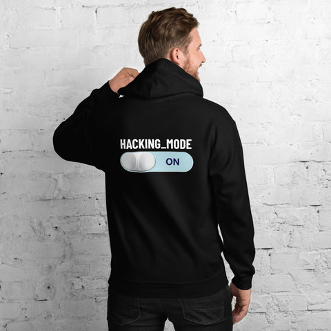 Hacking mode ON - Unisex Hoodie