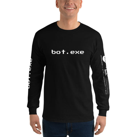 bot.exe - Men's Long Sleeve Shirt