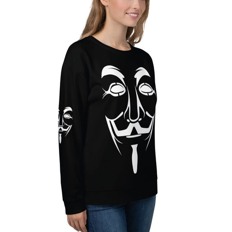 Anonymous - Unisex Sweatshirt (white)
