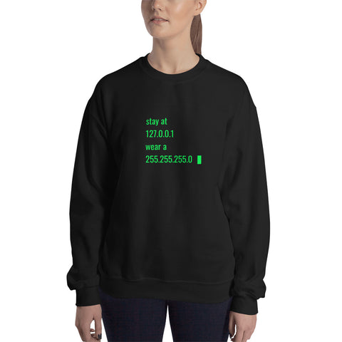 stay at at home, wear a mask v2 - Unisex Sweatshirt