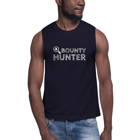 Bug bounty hunter - Muscle Shirt (white text)