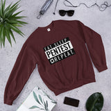 Eat sleep pentest repeat - Unisex Sweatshirt (white)