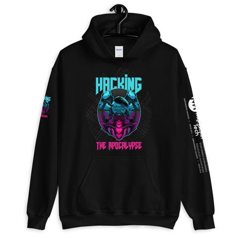 Hacking the apocalypse v2 - Unisex Hoodie