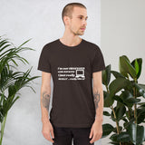 I'm not OBSESSED with HACKING - Short-Sleeve Unisex T-Shirt