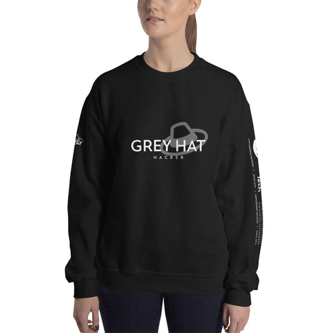 Grey Hat Hacker - Unisex Sweatshirt