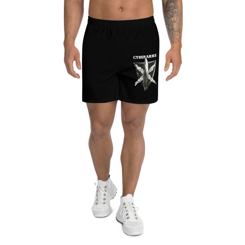 CyberArms - Men's Athletic Long Shorts