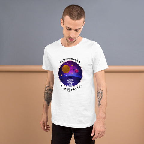 The Universe Is Made Of Default SSH Ports - Short-Sleeve Unisex T-Shirt
