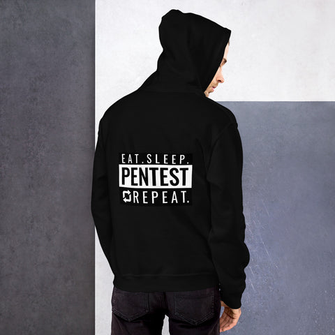 Eat sleep pentest repeat - Unisex Hoodie