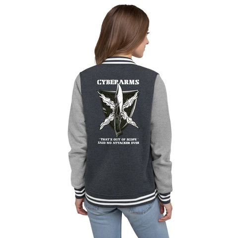 CyberArms - Women's Letterman Jacket
